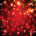 Christmas and new year shimmering background with snowflakes Stock Photos