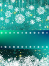 Christmas and New Year theme abstraction. EPS 8 Stock Image