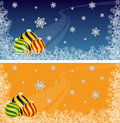 Christmas Ornament backgrounds Royalty Free Stock Photography