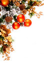 Christmas Ornament Corner Decoration Series Stock Photos
