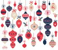 Christmas Ornament Elements Royalty Free Stock Photo