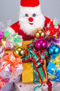 Christmas ornaments on day family members have exchanged gifts etiquette especially adults give their children gifts but many Royalty Free Stock Photos