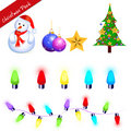 Christmas pack Stock Photography