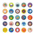 Christmas, Party and Celebrations Vector Icons 9 Royalty Free Stock Photo