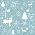 Christmas pattern background. EPS10 vector file. Royalty Free Stock Photo