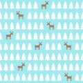 Christmas Pattern - Deer, Xmas...