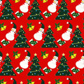 Christmas pattern icons decorations Royalty Free Stock Image