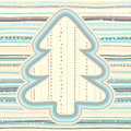 Christmas pattern in light pastel colors vector illustration of Royalty Free Stock Image