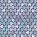 Christmas pattern in light pastel colors vector illustration of Stock Photo