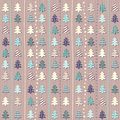 Christmas pattern in light pastel colors vector illustration of Royalty Free Stock Photography
