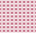 Christmas pattern with snow flakes on pink background Royalty Free Stock Photo