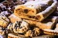 Christmas pie, cookies and gingerbread cookies