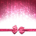 Christmas pink abstract background. Royalty Free Stock Photo