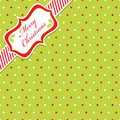 Christmas polka dot Royalty Free Stock Photo