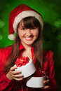 Christmas portrait Stock Photos