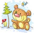 Christmas Postcard Illustratio...