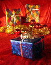 Christmas present Στοκ Φωτογραφίες