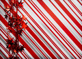 Christmas present background Stock Images