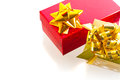 Christmas presents background Royalty Free Stock Photo