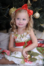 Christmas princess Stock Image
