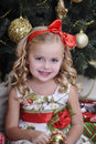 Christmas princess Stock Images