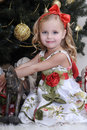 Christmas princess Royalty Free Stock Photo
