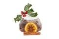 Christmas pudding Royalty Free Stock Photo