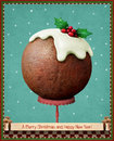 Christmas pudding Royalty Free Stock Photo