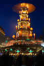 Christmas pyramid in Germany Royalty Free Stock Photo