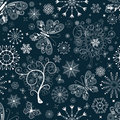Christmas repeating pattern Stock Images