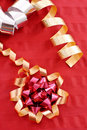 Christmas Ribbons Stock Photography