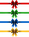 Christmas Ribbons Set Royalty Free Stock Photography