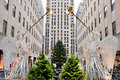 Christmas in Rockefeller Center Royalty Free Stock Photography