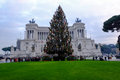 Christmas in Rome Royalty Free Stock Photo