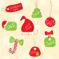 Christmas_sale Stock Images