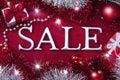 Christmas Holiday Sale Backgro...