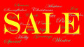 Christmas Sale banner ads Royalty Free Stock Photos