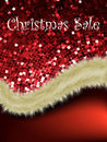 Christmas sale card templates. EPS 8 Royalty Free Stock Image