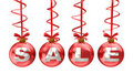Christmas sale sign Royalty Free Stock Photo