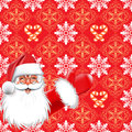 Christmas. Santa Claus Royalty Free Stock Photo