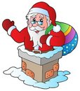 Christmas Santa Claus 5 Royalty Free Stock Photos
