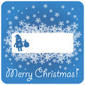 Christmas Santa Claus banner Royalty Free Stock Image