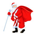 Christmas santa grandfather Royalty Free Stock Image