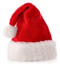 CHRISTMAS SANTA HAT Royalty Free Stock Photography