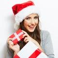 Christmas Santa Hat Isolaed Wo...