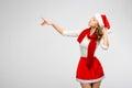 Christmas Santa Hat Isolated W...