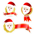 003-Christmas Santa Tag
