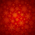 Christmas seamless background with snowflakes. Vector illustration. Royalty Free Stock Photo