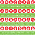 Christmas Seamless Patern Royalty Free Stock Photo