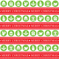 Christmas seamless patern this is design vector file Stock Photos